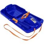 KHW 21008 Snow Fox Kunststoffrodel, blau/orange