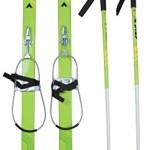 Stiga Langlauf Ski Set 110 cm XC Ski Snow Fling green 110 cm