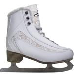 Cox Swain Figur Damen/ Kinder Eiskunstlauf Schlittschuh PLUSH - alle Größen, Farbe: White, Größe: 39