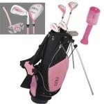 Golf Girl Junior Komplettset - die pinke Produktpalette 4-7j.