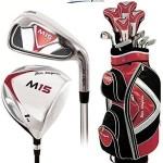 Ben Sayers M15 Golf Schläger Set Alle komplett mit Graphitschaft - Golftasche Herren Graphit Schlägerkopf Abdeckung und Ben Sayers Golfschirm & Vereins Packung
